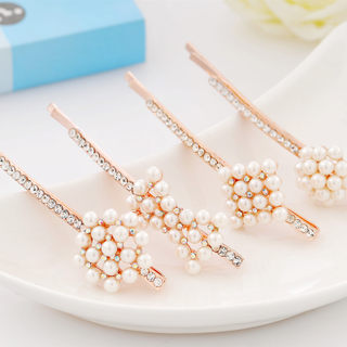 2015 new love fashion hair accessories rhinestone hair clip Clip clip Clip clip fringe issue Korean headdress