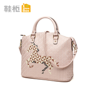Shoebox shoe 2015 winter season fashion leisure single shoulder handbag color handbags 1115583136