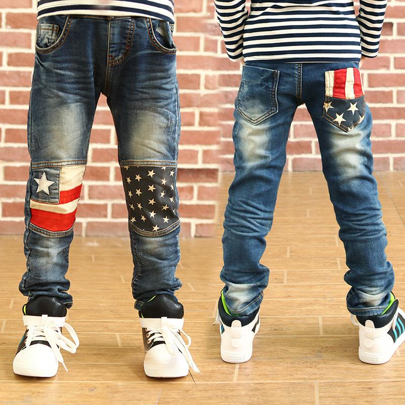 Для мальчиков из джинсах