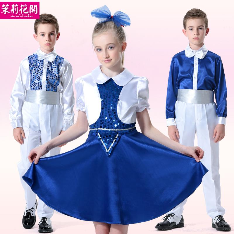 Детские платья для хора