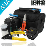 Genuine AUA fiber Cleaver FTTH optical fiber cold Kit package optical fiber fusion splicer Kit
