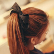 Cool na original sweet wide ribbon hair accessories hair Super big Butterfly first string capitatum 6219