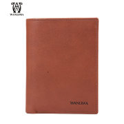 Wan Lima wallet men's 2015 new style trend short leather wallet wallets, genuine leather wallet