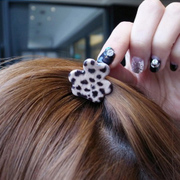 Korea Leopard print small catch clip hair clip bangs clip catch hair clip flower hair clips made by the small bear ornament