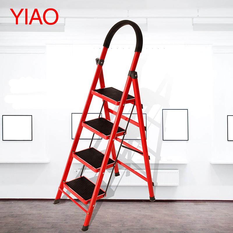 怡奥梯子家用折叠梯加厚室内人字梯移动楼梯伸缩梯步梯多功能扶梯