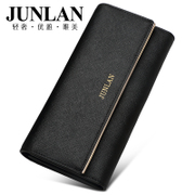 Chun LAN ladies wallet wallet leather star bulk retro women's 30 percent in Europe and America wallet handbags
