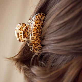 Know Richie bangs hair Korea hair accessories jewelry Leopard King trumpet top clips side clips catch the clip a clip