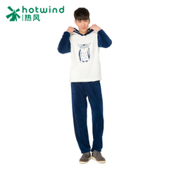 Hot spring and autumn men's clothing suits cartoon Hoodie pullovers at home home service 93W025901