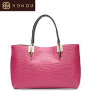 Honggu Hong Gu 2015 counters authentic new pure leisure ladies shoulder bag leather 5192