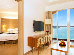 三亚亚龙湾君澜度假酒店(原假日度假酒店)海景榻榻米亲子套房