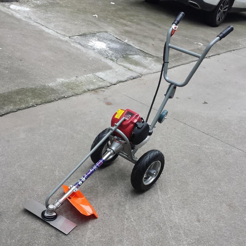 卡尔特草坪机割草机小型手推式双手把二冲四冲程汽油割灌机除草机