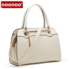 Doodoo fashion handbags for fall/winter autumn middle-aged popular laptop shoulder bag lady bag 2015 new tide