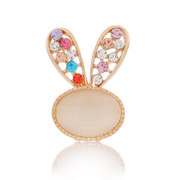 Love jewelry Korea brooch pin ladies brooch cute rabbit scarf shawl ring brooch jewelry women