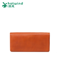 Hot new men's simple header layer of leather notes the card wallet long wallet 5112W5505