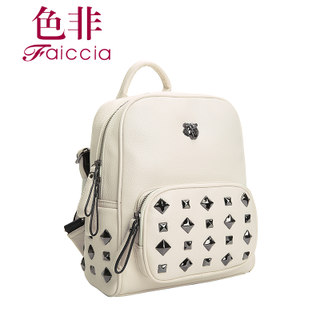 Non genuine 2015 new counters Ms rivet zipper Backpack Backpack bag AHL13730