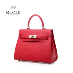 MICIE/beautiful city 2015 vintage handbags for fall/winter quarter tumble Pu Niu Pichelli bag medium top handle bag woman bag