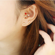 Cool na Korean ear jewelry Korean stars stars stars diamond stud earrings fashion earrings 2008