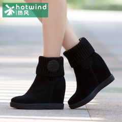 Hot new sweet beauty in boots high boots in winter tide English high heels short boots H86W5414