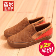 Becky's autumn new men's shoes men's shoes shoes casual set foot pedal lazy people of England air mail