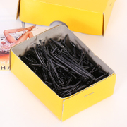 Chuck know Connie hair simple fringe hair clip hairpin clip Barrette clip black box ornament