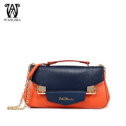 Wanlima/million 2015 winter new female European chain leisure fashion handbags shoulder bag
