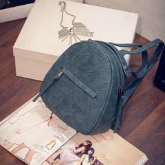 About female beauty for 2015 and autumn new Korean fashion simple backpack school bag backpack bag travel bag