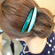 The beautiful Princess Korea worked with simple candy acrylic hair accessories hair clip comb