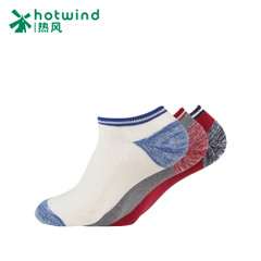 Hot spring fall/winter socks low cut light stealth boat socks padded sport warm socks 83W115703