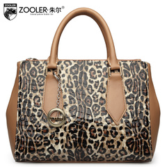 Jules Leopard killer for 2015 new purses for fall/winter fashion bags leather women's baodan shoulder bag