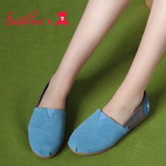 Related interesting new leather shoes casual fashion color Teddy bear head Candy-colored flat-bottom shoes T01661