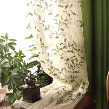 美款乡村亚麻窗帘po5欧简约现ma卧室客厅日系遮光 成品窗纱帘