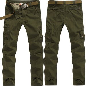 Spring and summer outdoor military fan clothing men's classic cotton military pants men's special military overalls cotton trousers thin section