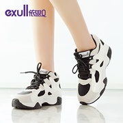 Exull q2015 new autumn spell color comfortable platform shoes fashion casual women shoes 15174171