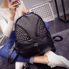 Us about shoulder bags women bags fall 2015 the new trend of the Korean version of the rivet package backpack school bag backpack bag