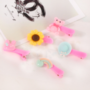 Know NI Korea cartoon children mini hair clips Duckbill clip yakeliliuhai clip girls hair accessory jewelry
