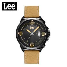 LEE男表 2016新款时尚手表大开面表盘不锈钢防水石英表LES-M67