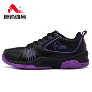 Kang step basketball shoes men's breathable genuine men's Hi-shock absorber wear sneaker specialized training shoes