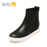 Shoe shoebox new wave short plush sets foot in winter low boots with round head 1115607130 casual shoes