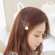 Know Connie hair accessories Korean version of the Bohemian side drill clamp Korea hair accessories hair clip bangs clip