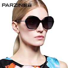 帕森雅致闪亮水钻款偏光太阳镜 潮女士大框司机驾驶镜墨镜9537
