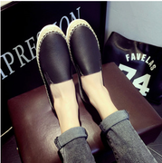 2015 shoes leisure shoes low ping Lok Fu shoes women set foot at the end of the lazy man kicking shoes women shoes
