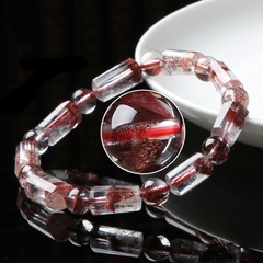 Natural rare Mars red clearance second ghost rare Gold Bracelet women jewelry Tower Mars '' red color