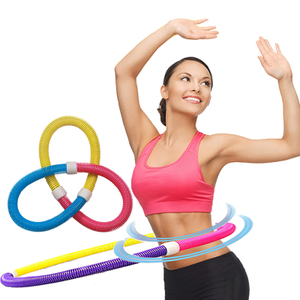 Hula Hoop thin waist and abdomen female adult fitness circle thin ring soft spring hula hoop Child Children splash ring