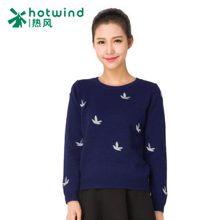 Hot spring new street style long sleeve sweater for fall/winter women's loose head crew neck sweatshirts women 08H5711