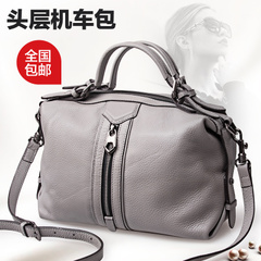 2015 new Miss evening thinking summer shoulder flashes ladies leather handbag motorcycle bag leather handbag bag