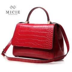 Micie crocodile pattern bag 2015 new wave female European fashion handbag shoulder bag Messenger bag