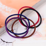 Korea Foundation base black hair fine Korean hair band hair band hair accessories hair rope headwear