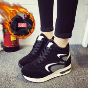 2015-end of autumn and the new Korean version of thick and plush high-top sneakers women''''''''s flat shoes and students women shoes wave