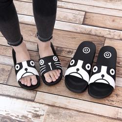 夏天情侣拖鞋女款室内男士防滑家居家用可爱儿童浴室塑料冲凉拖鞋
