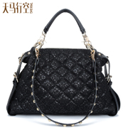 Lady bag 2015 fall/winter new style women Bao Ling's Korean version flows commute lace sequined one-shoulder bag